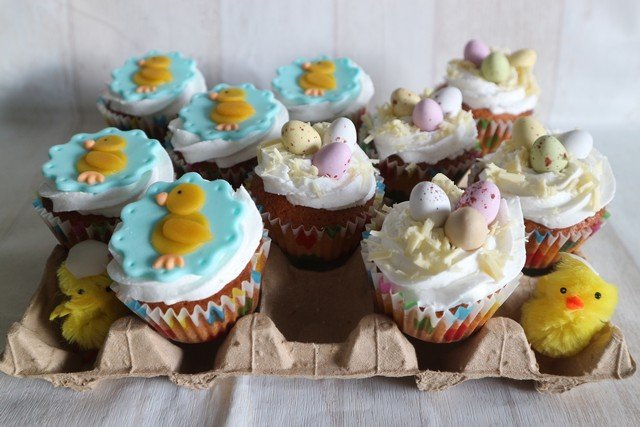 recept witte chocolade cupcakes